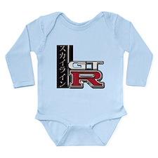 Skyline GT-R Katakana Long Sleeve Infant Bodysuit