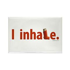 I Inhale Rectangle Magnet (100 pack)