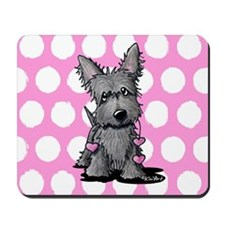 Heartstrings Scottie Terrier Mousepad