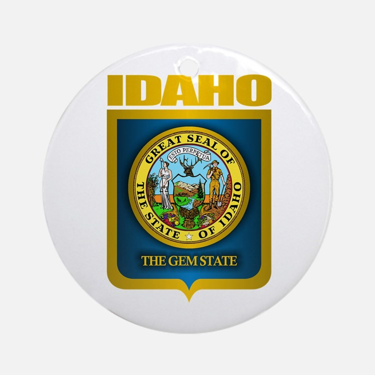 """Idaho Gold"" Ornament (Round)"