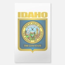 """Idaho Gold"" Sticker (Rectangle)"