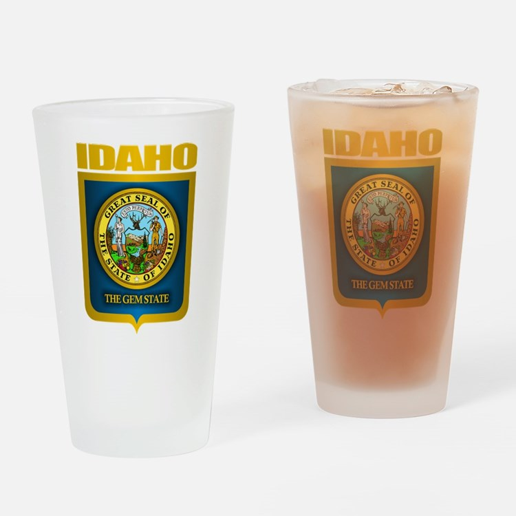 """Idaho Gold"" Drinking Glass"