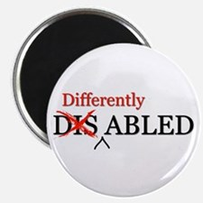 Differently Abled Magnet