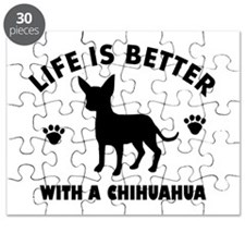 Chihuahua Breed Design Puzzle