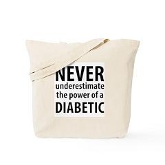 Never Underestimate Tote Bag