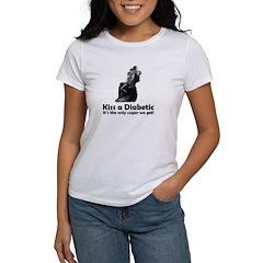 Kiss a Diabetic Tee