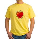 Wired4Life.net Yellow T-Shirt