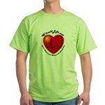 Wired4Life.net Green T-Shirt