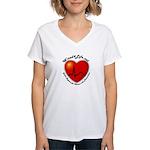 Wired4Life.net Women's V-Neck T-Shirt