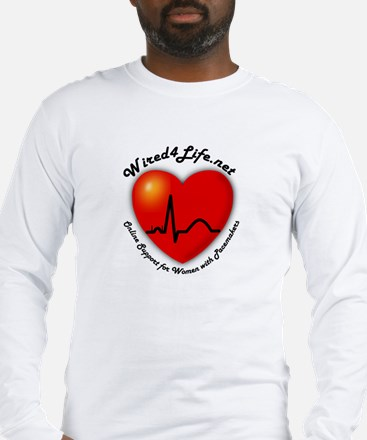 Wired4Life.net Long Sleeve T-Shirt