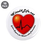 """Wired4Life.net 3.5"""" Button (10 pack)"""