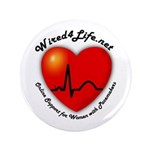 """Wired4Life.net 3.5"""" Button (100 pack)"""