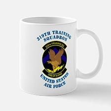 319th Training Squadron with Text Mug