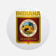 """""""Indiana Gold"""" Ornament (Round)"""