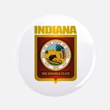 """Indiana Gold"" 3.5"" Button"