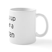Grow Up Policewoman Small Mug