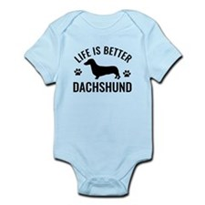 Daschund Design Infant Bodysuit