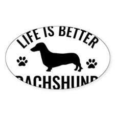 Daschund Design Decal