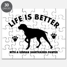 German short haired Breed Design Puzzle