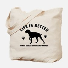 German short haired Breed Design Tote Bag