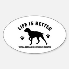 German short haired Breed Design Decal
