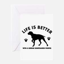 German short haired Breed Design Greeting Card