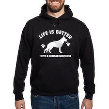 German shepherd breed Design Hoody
