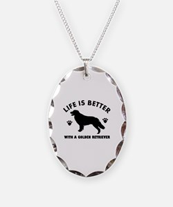 Golden retriever breed Design Necklace
