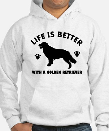 Golden retriever breed Design Hoodie Sweatshirt