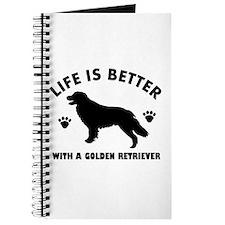 Golden retriever breed Design Journal