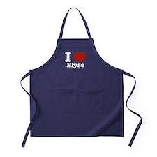 I love Elyse Apron (dark)