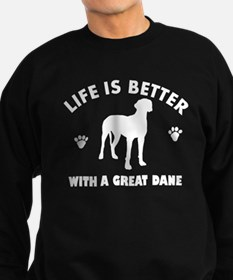 Great Dane breed Design Sweatshirt
