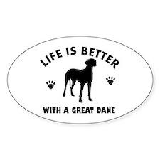 Great Dane breed Design Decal