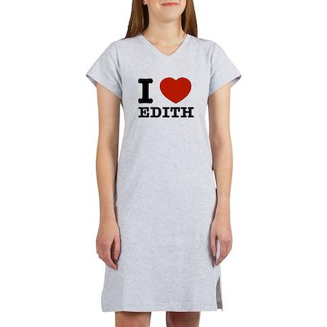 I love Edith Women's Nightshirt