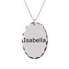 Isabella Necklace Oval Charm