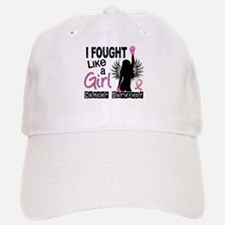 Licensed Fought Like a Girl 26S Baseball Baseball Cap