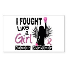 Licensed Fought Like a Girl 26 Decal
