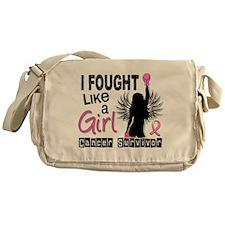 Licensed Fought Like a Girl 26S Messenger Bag