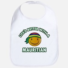 Cute Mauritian designs Bib