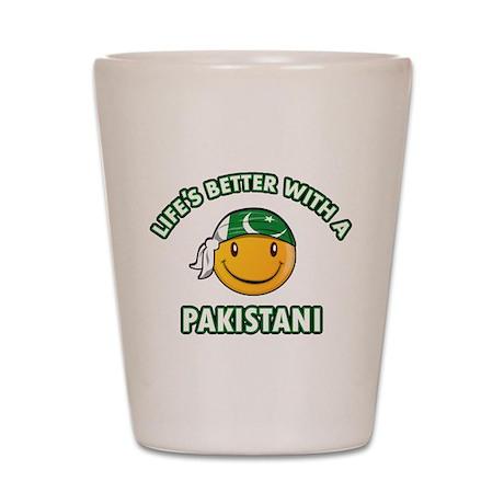 Cute Pakistani designs Shot Glass