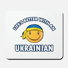 Cute Ukrainian designs Mousepad