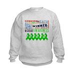Stem Cell Transplant Survivor Kids Sweatshirt