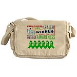 Stem Cell Transplant Survivor Messenger Bag