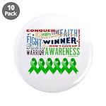 "Stem Cell Transplant Survivor 3.5"" Button (10 pack"