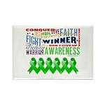 Stem Cell Transplant Survivor Rectangle Magnet (10