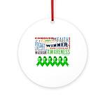 Stem Cell Transplant Survivor Ornament (Round)