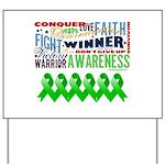 Stem Cell Transplant Survivor Yard Sign