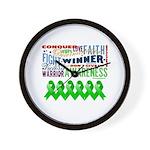 Stem Cell Transplant Survivor Wall Clock