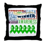 Stem Cell Transplant Survivor Throw Pillow