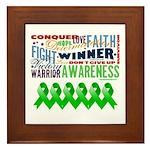 Stem Cell Transplant Survivor Framed Tile